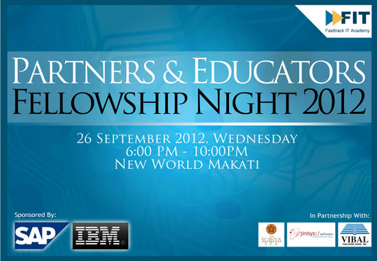 Partners and Educators Fellowship Night