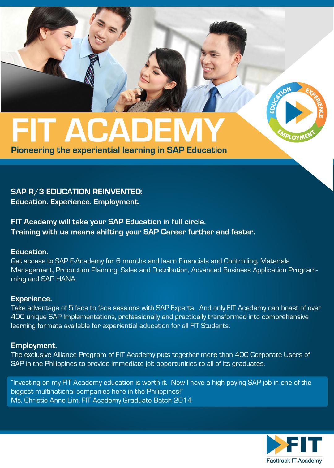 SAP E Academy