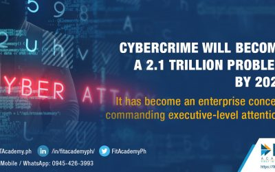 CyberCrime will become a 2.1 trillion problem by 2021