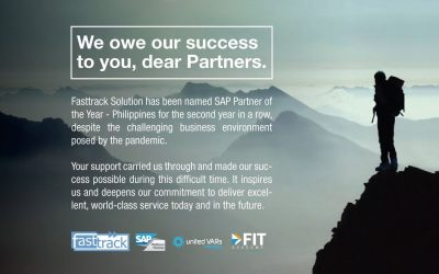 Fasttrack Solutions | SAP Partner of the Year 2020 Philippines