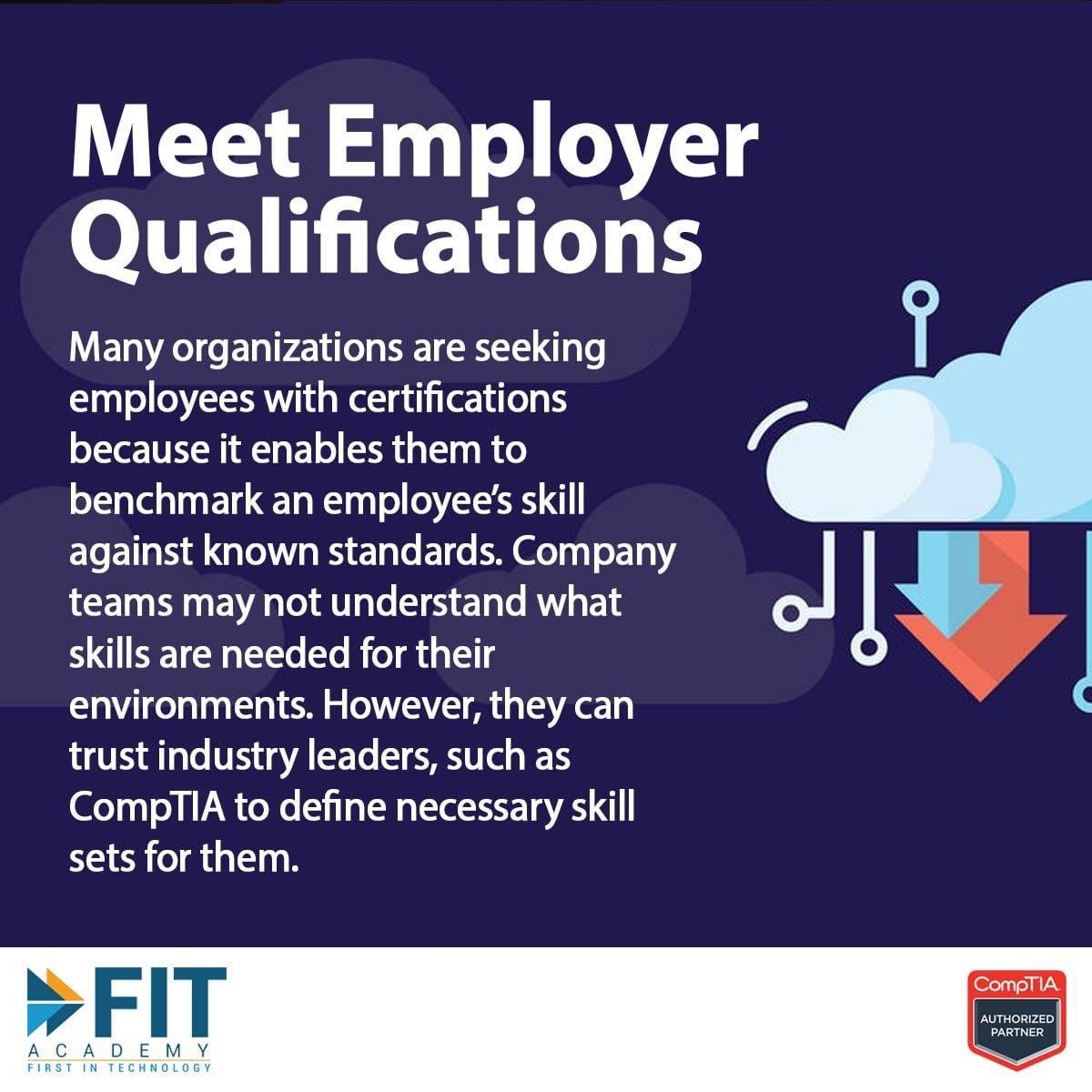 Meet Employer Qualification
